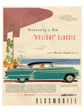 GM Oldsmobile-Holidy Classic98 Print