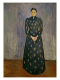 Inger Munch, The Artist's Sister, 1892 Giclee Print by Edvard Munch