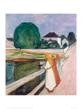 White Night, 1903 Giclee Print by Edvard Munch