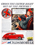 GM Oldsmobile-Cross the Clutch Póster