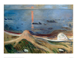 Beach Mysticism, 1892 Giclee Print by Edvard Munch