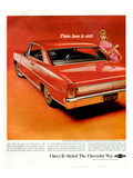 GM Chevy II-Plainjane It Ain'T Posters