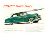 GM Oldsmobile-Rockets Ahead Poster