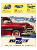 GM More People Buy Chevrolet Prints