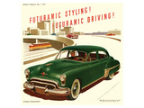 GM Oldsmobile-Futuramic Styling Affiches