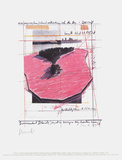 Surrounded Islands, Project for Biscane Bay, Greater Miami, Collage Collectable Print by Javacheff Christo