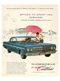 GM Oldsmobile - F-85 Cutlass Posters
