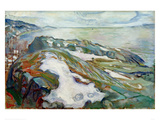 Winter Landscape, 1915 Giclee Print by Edvard Munch
