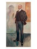 Walter Rathenau, 1907 Giclee Print by Edvard Munch