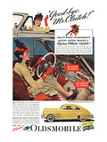 GM Oldsmobile - Bye Mr. Clutch Art