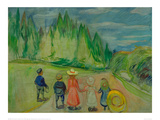 Enchanted Forest, 1903 Giclee Print by Edvard Munch