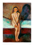 Puberty, 1894 Giclee Print by Edvard Munch