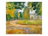 Park in Koesen, 1906 Giclee Print by Edvard Munch