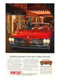 GM Pontiac- Sparkling Showcase Affiches