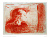 The Sick Child 1, 1896 Giclee Print by Edvard Munch