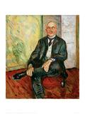 Gustav Schiefler, 1908 Giclee Print by Edvard Munch