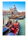 Gondolas Canale Grande Venice Print