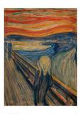 The Scream, 1893 Wydruk giclee autor Edvard Munch