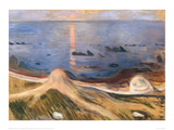 Summer Night , 1900 Giclee Print by Edvard Munch