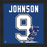 Tyler Johnson, Lightning Framed photographic representation of the player's jersey Framed Memorabilia