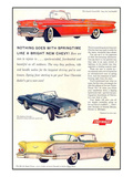 GM Springtime Bright New Chevy Affiche