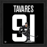 John Tavares, Islanders Framed photographic representation of the player's jersey Framed Memorabilia