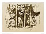The Forest Giclee Print by Edvard Munch