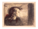 The Sick Girl, 1896 Giclee Print by Edvard Munch