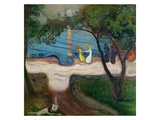 The Dance on the Shore Giclee Print by Edvard Munch