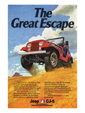 Jeep Cj-5 Renegade-Greatescape Posters