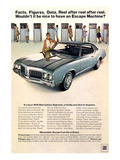 GM Oldsmobile - Escape Machine Prints