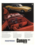 GM Chevy Camaro Big-Car Power Posters