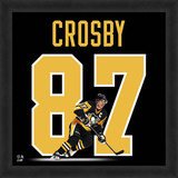 Sidney Crosby, Penguins Framed photographic representation of the player's jersey Framed Memorabilia