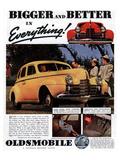 GM Oldsmobile Bigger & Better Posters