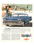 GM Chevy-Excitement By Design Posters