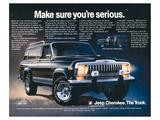 Jeep Cherokee - Make Sure… Prints