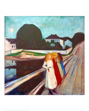 Four Girls on the Bridge, 1905 Giclee Print by Edvard Munch