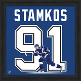 Steven Stamkos, Lightning Framed photographic representation of the player's jersey Framed Memorabilia