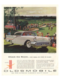 GM Oldsmobile-Check the Score Print