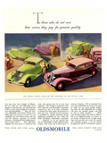 GM Oldsmobile-Genuine Quality Poster