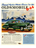 GM Oldsmobile-Hydramatic Drive Prints