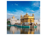 Golden Sikh Gurdwara Temple Print