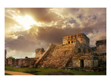 Mayan Castillo Tulum Mexico Prints