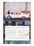 Lincoln 1961 Largest V-8 Posters