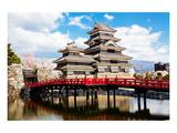 Matsumoto Temple Nagano Japan Poster