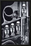 Birth Machine Posters by H. R. Giger