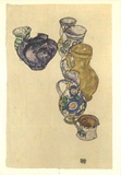 Earthenware Tableware Collectable Print by Egon Schiele