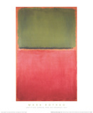 Untitled (Green, Red on Orange, 1951) Collectable Print by Mark Rothko