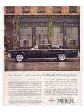 Lincoln 1961 Advanced Design Prints
