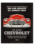 GM Chevy Big Car Quality Prints